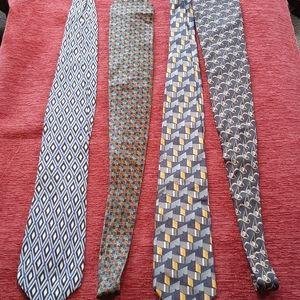 Valentino and ungaro ties silk (4)